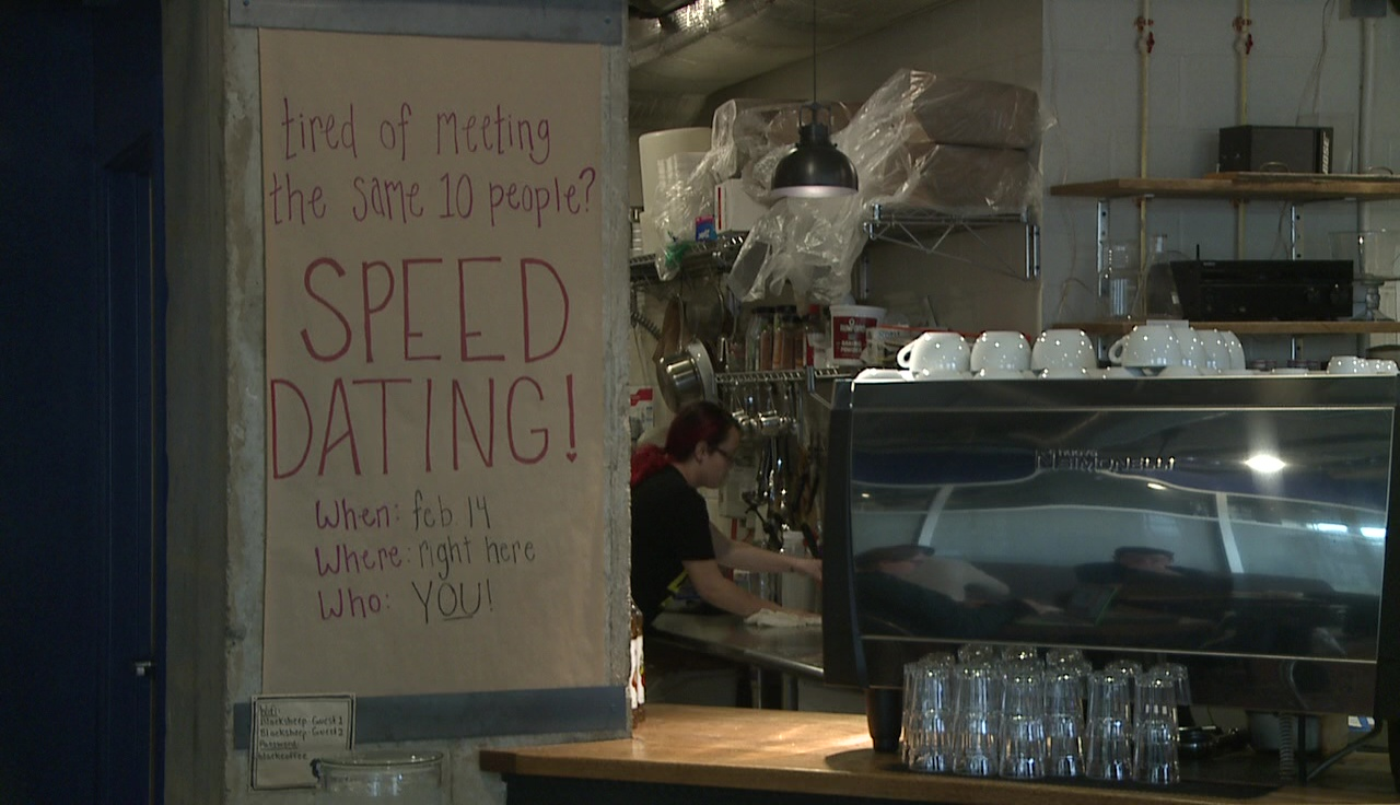 Coffee speed dating