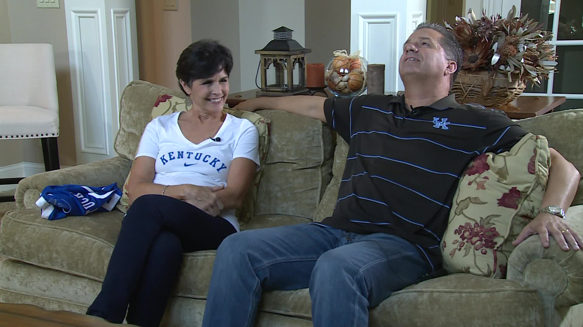 Wkyt Exclusive At Home With John And Ellen Calipari