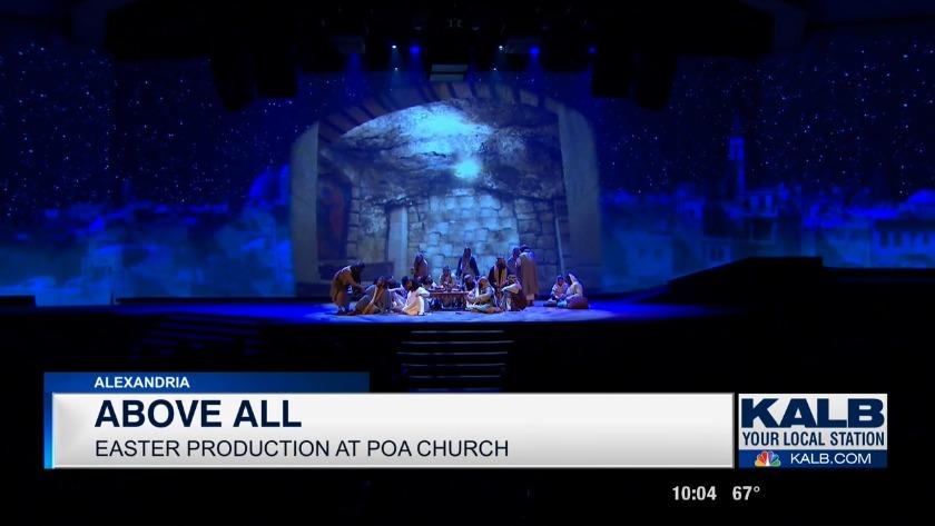 Pentecostals of Alexandria perform last production of 'Above