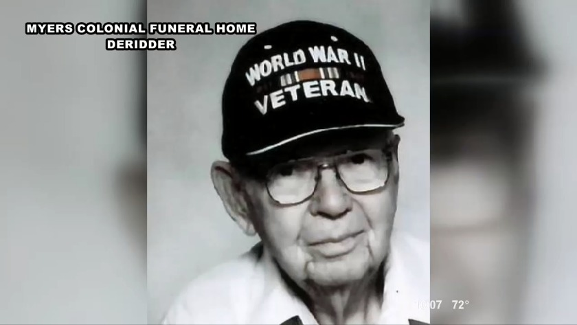 Wwii Rosepine Veteran Laid To Rest Over The Weekend