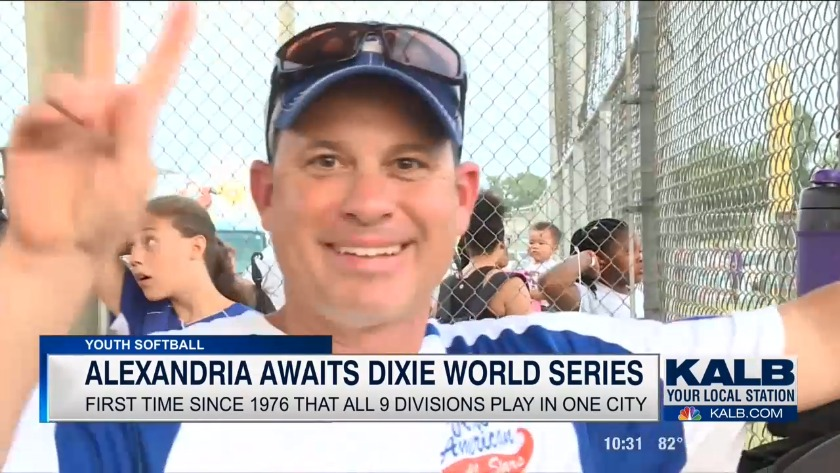 Alexandria preps for Dixie Softball World Series