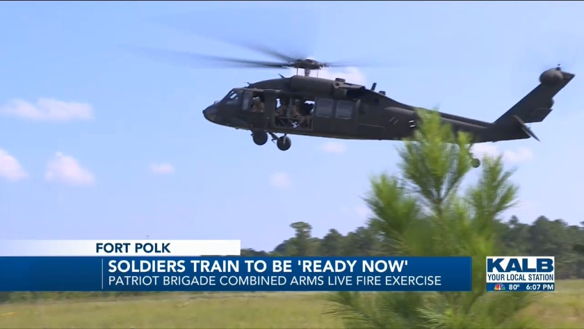 Soldiers Train to Be 'Ready Now'