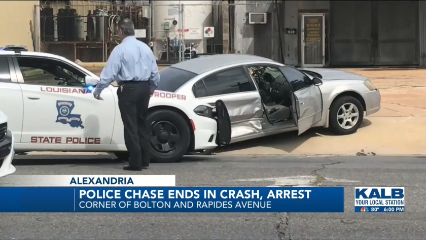 4 troopers injured, 3 suspects arrested after Alexandria police chase