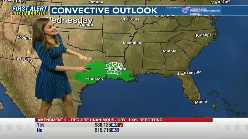 Kalb Weather Map.11 7 Adaleigh Rowe