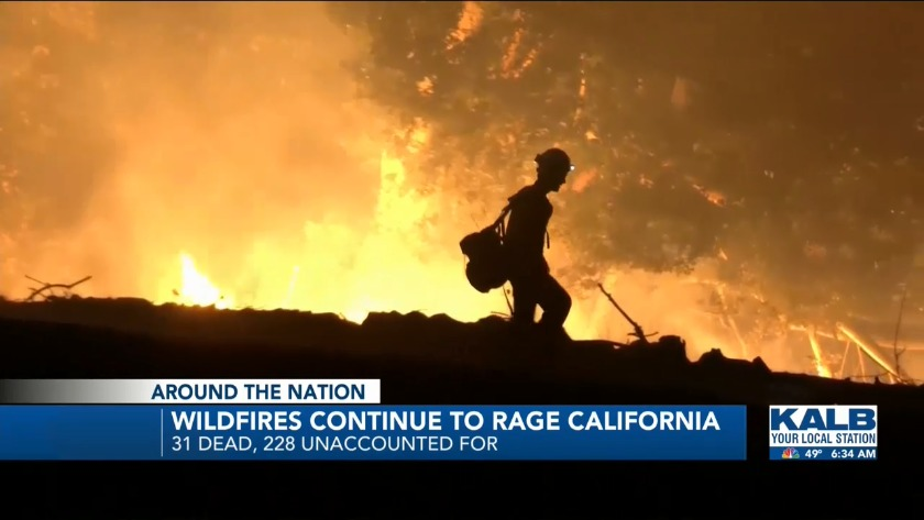 Wildfires remain deadly in California