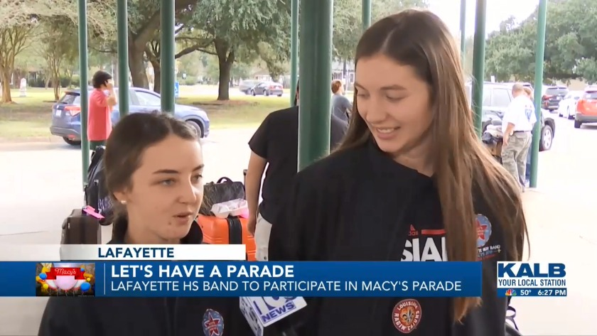 Lafayette HS Band to Participate in Macy's Parade