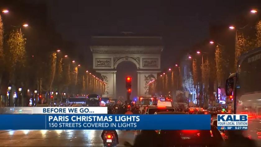 Christmas Lights In Paris.Paris Christmas Lights
