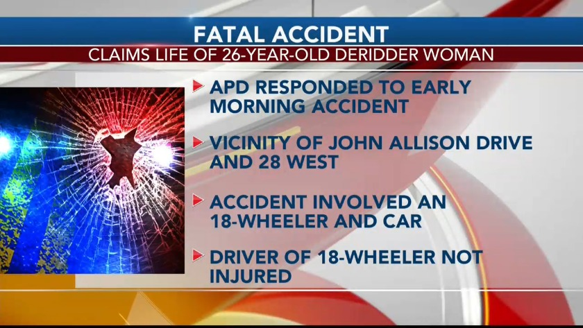 Fatal accident on Hwy 28 West