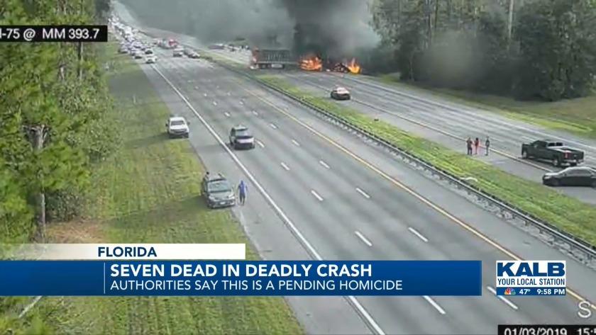 Officials confirm some victims in Florida fatal bus crash