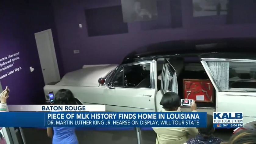 Piece of MLK History Finds a Home in Louisiana