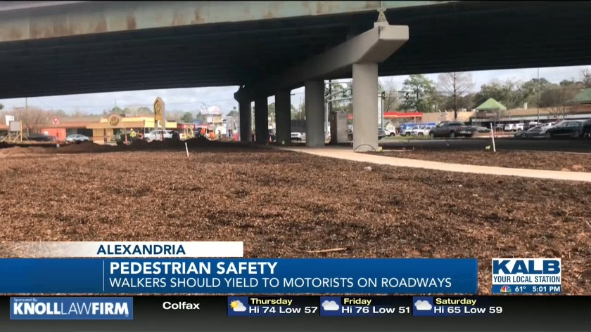 Pedestrian safety emphasized after fatal accident in Alexandria