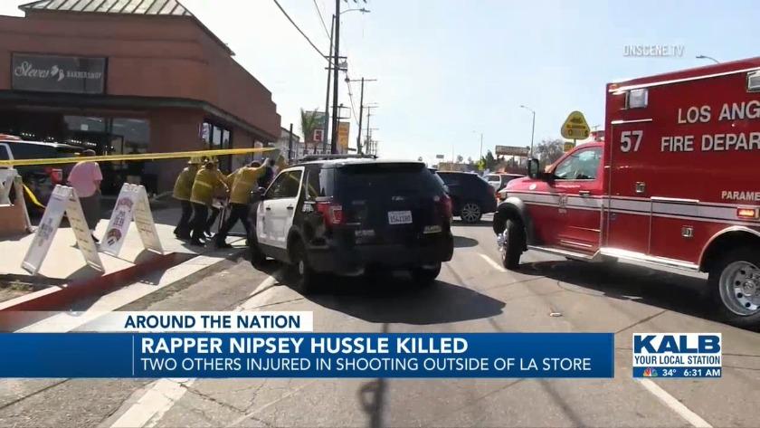 Nipsey Hussle shot to death in Los Angeles