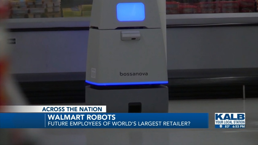 Meet Walmart's new robot employees