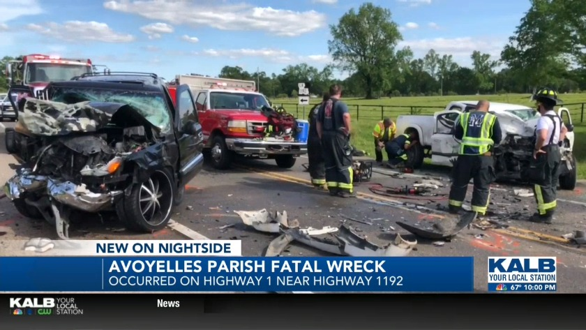 Avoyelles Parish fatal crash