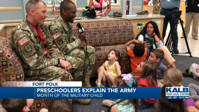 Preschoolers explain the Army