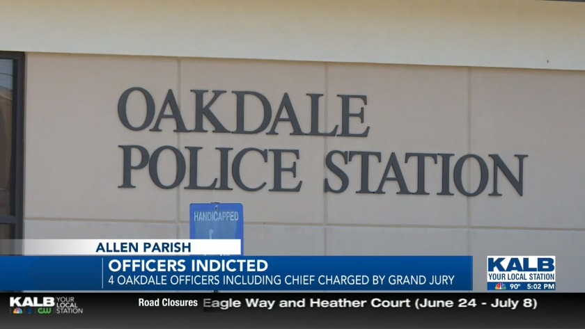Oakdale police chief among four indicted by grand jury
