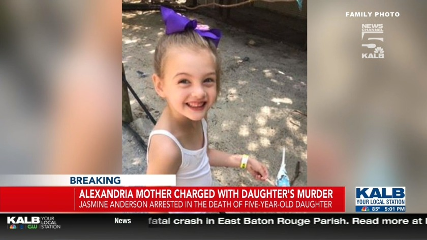 Bond set at $500k for mother charged with murdering 5-year-old daughter