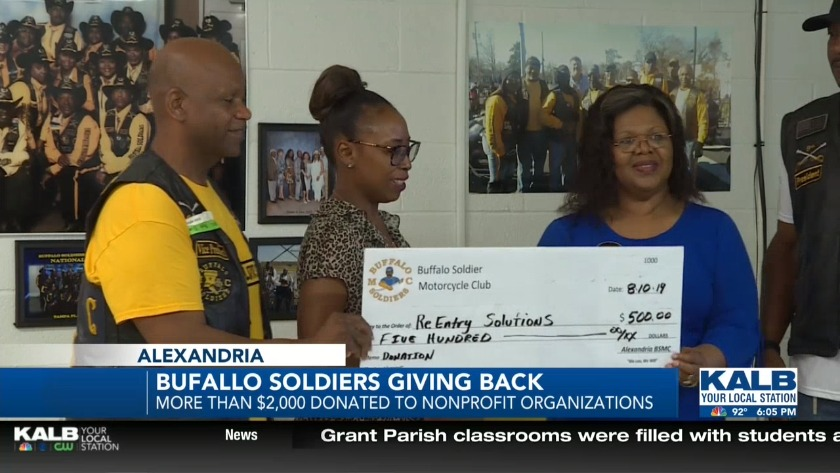 Buffalo Soldiers giving back