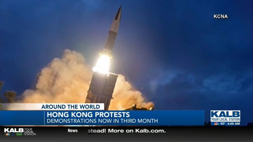 North Korea launches short range missles