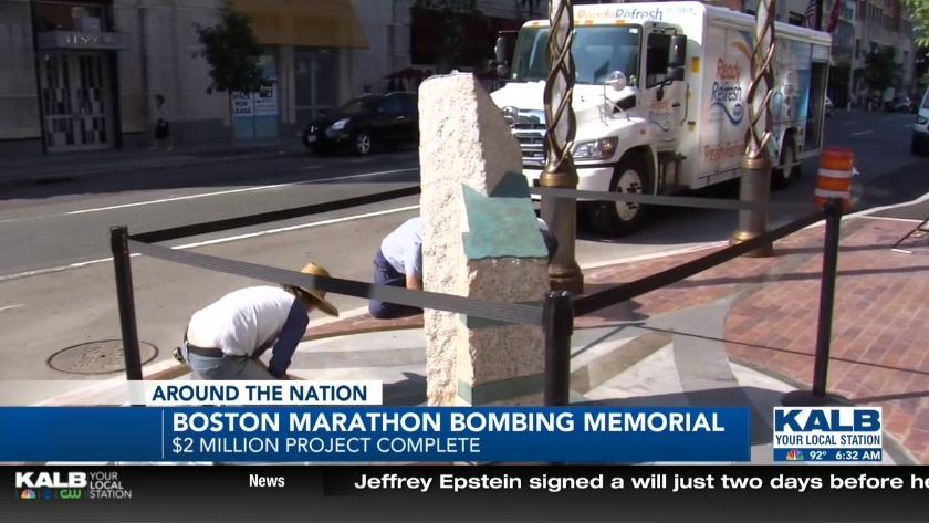 Boston Marathon bombing memorial complete