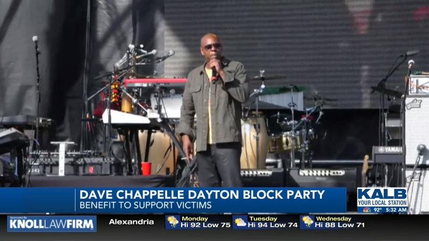 Dave Chappelle hosts benefit in Dayton, Ohio