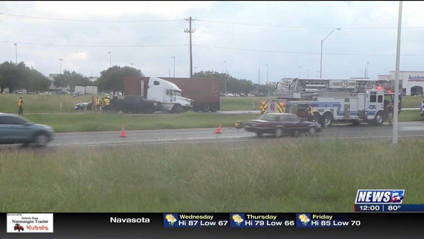 UPDATE: Northbound Highway 6 back open after accident