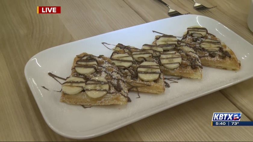 From Food Truck To Brick And Mortar Mess Waffles Now Open In