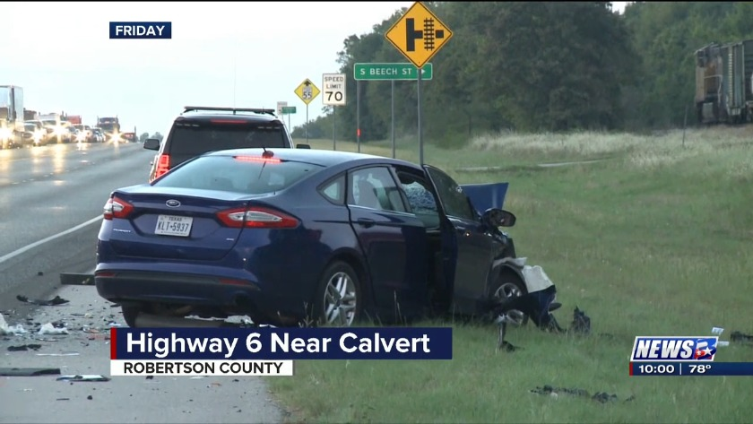 Authorities identify victim in Robertson County Highway 6 crash
