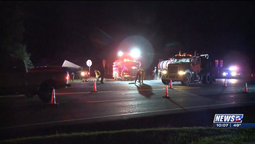 Two people killed in early morning accident on Highway 21