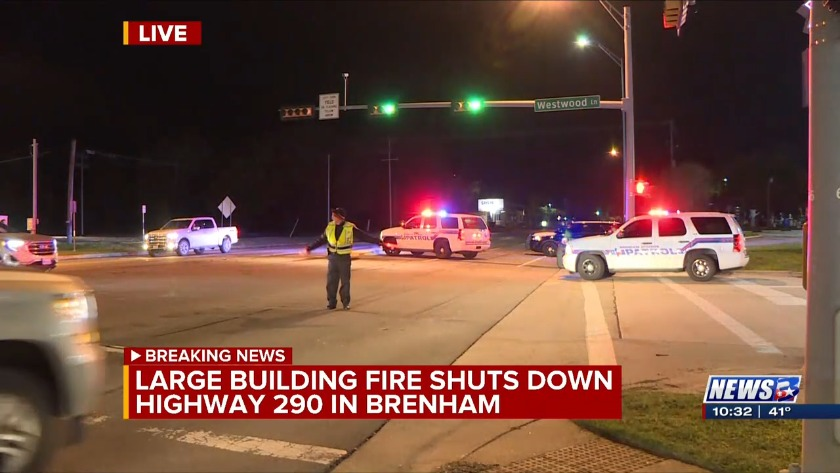 Fire destroys Brenham business