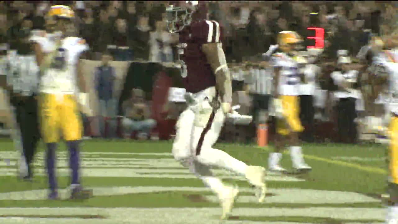 Mond helps Aggies over No  8 LSU 74-72 in 7 OTs