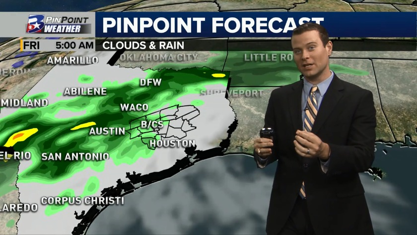 Tuesday Midday PinPoint Forecast 12/4