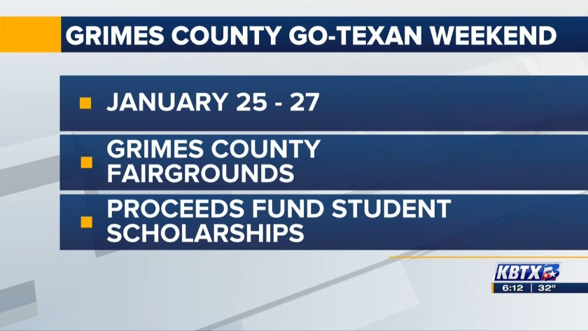 Grimes Co  Go-Texan event to feature music, games, barbecue