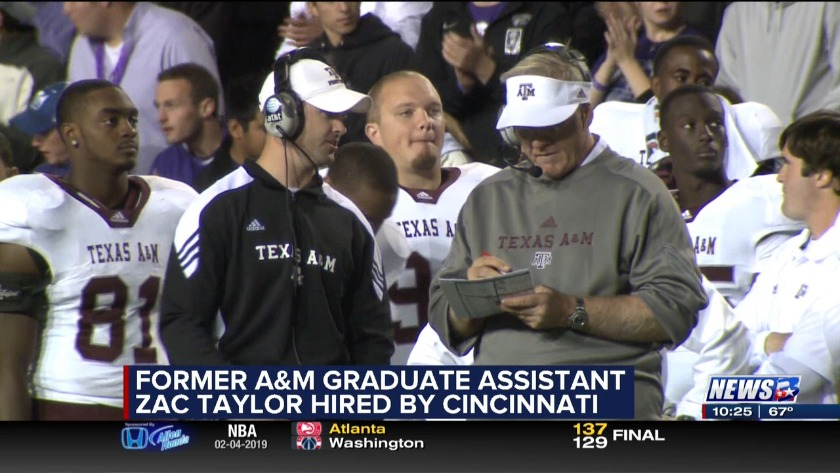 With Wait Over Bengals Hire Former Texas Am Grad Assistant Zac