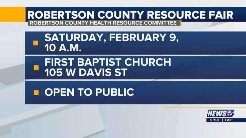 Robertson County Resource Fair