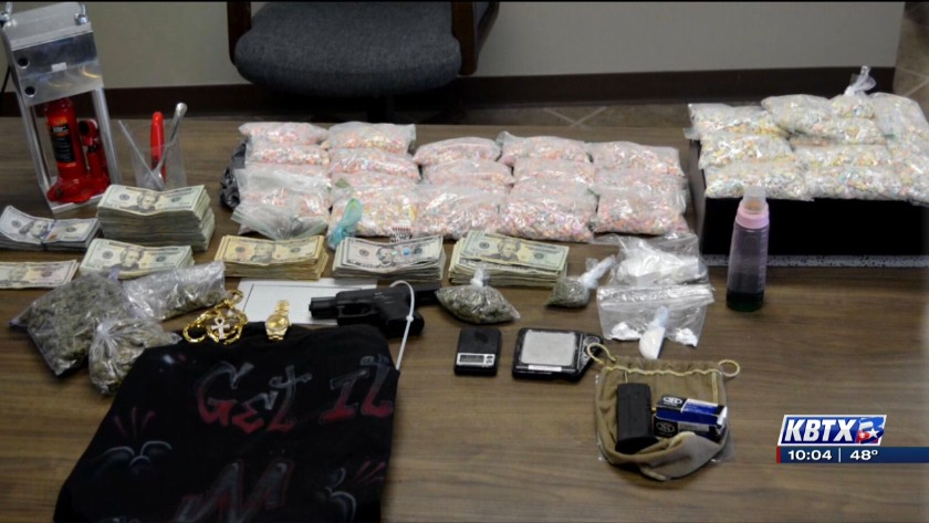 CSPD make largest drug bust in Brazos County history