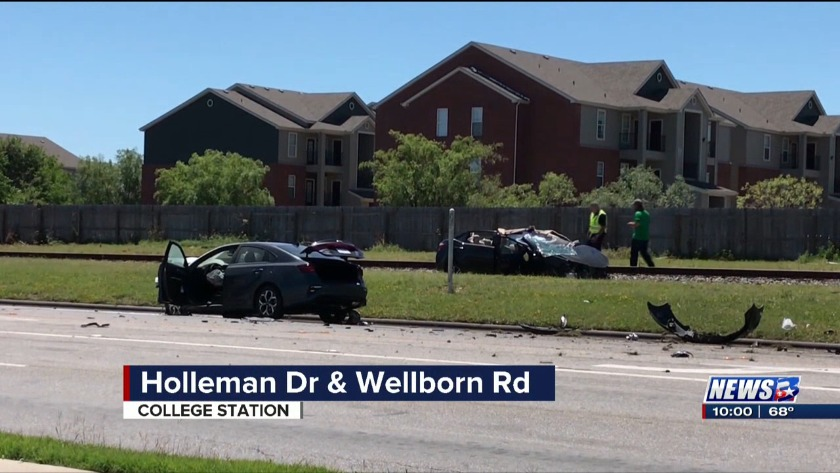 Several injured in car accident in College Station