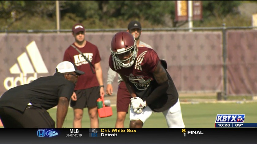 Aggie wide receivers feeling confident after a week of practice