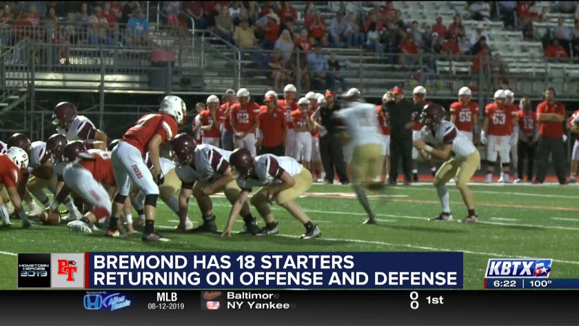 Bremond Tigers: 2019 Hometown Heroes
