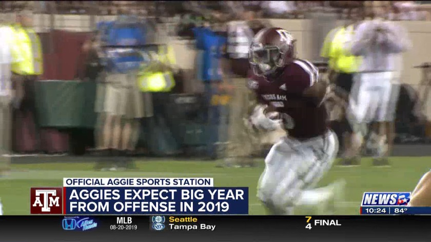 6d511263921 Aggie offense could put up big numbers in 2019