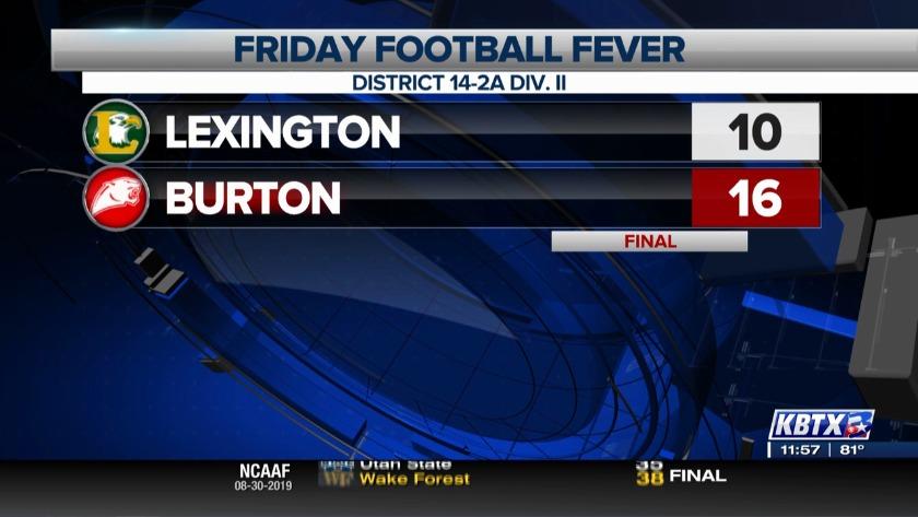 Burton Panthers slash Eagles in season opener