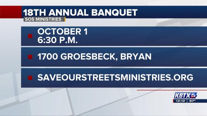 News 3 at Noon: SOS Ministries Banquet