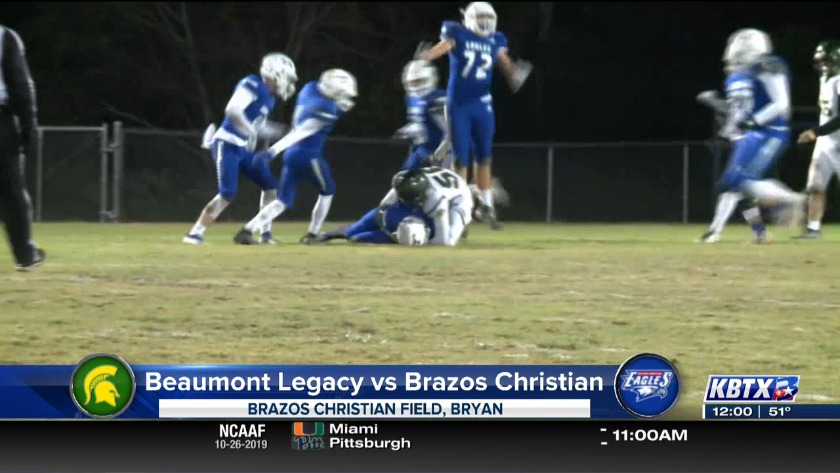 Brazos Christian wins district home opener against Beaumont