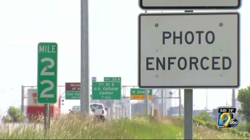 Iowa DOT will let cities turn traffic cameras back on- UPDATE