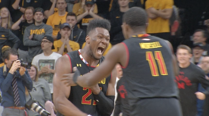 Iowa Cant Find Late Game Magic Lose To Maryland 66 65