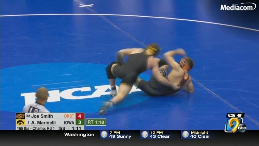 Iowa dominates in National Wrestling tournament