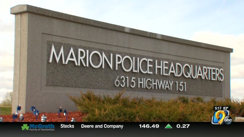 Marion police union votes 'no confidence' in their