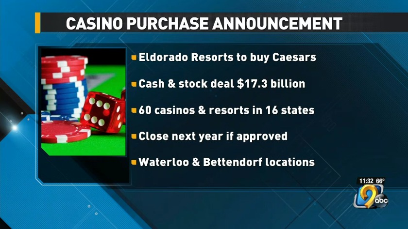 Casino with ties to eastern Iowa announces purchase