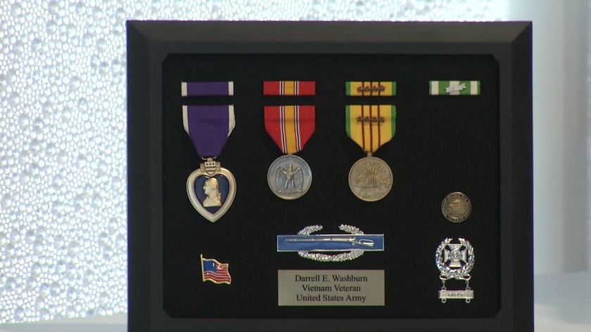 Riverside man posthumously awarded medals