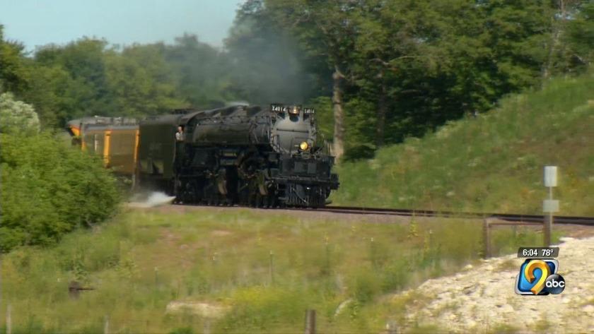 Big Boy' rolls into Cedar Rapids